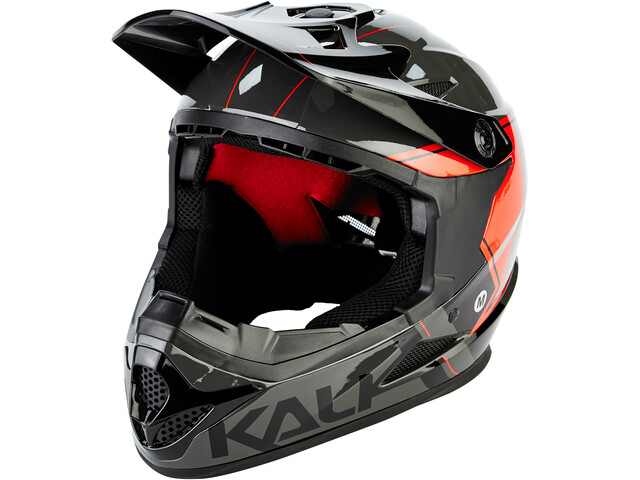 Kali Zoka Casque Homme, grey/red/black
